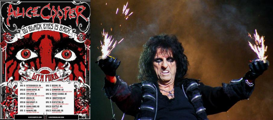 Alice Cooper at The Hall at Live Casino and Hotel