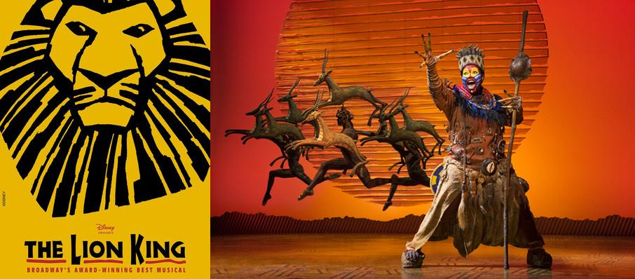 The Lion King at Hippodrome Theatre