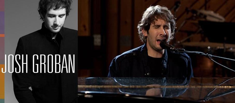 Josh Groban at The Hall at Live Casino and Hotel