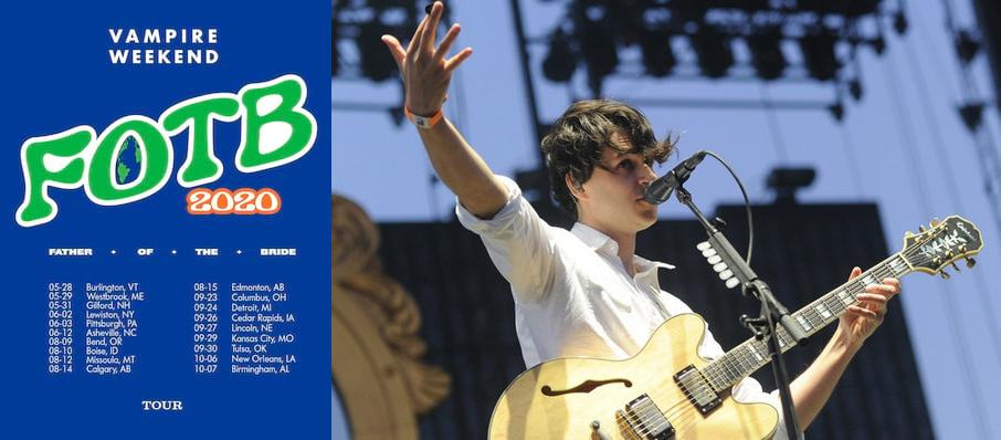 Vampire Weekend at Merriweather Post Pavillion