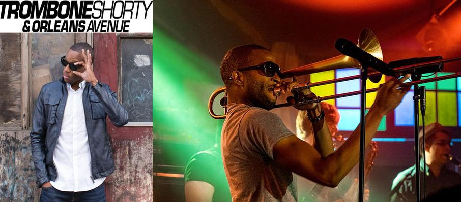 Trombone Shorty And Orleans Avenue at Pier Six Concert Pavilion