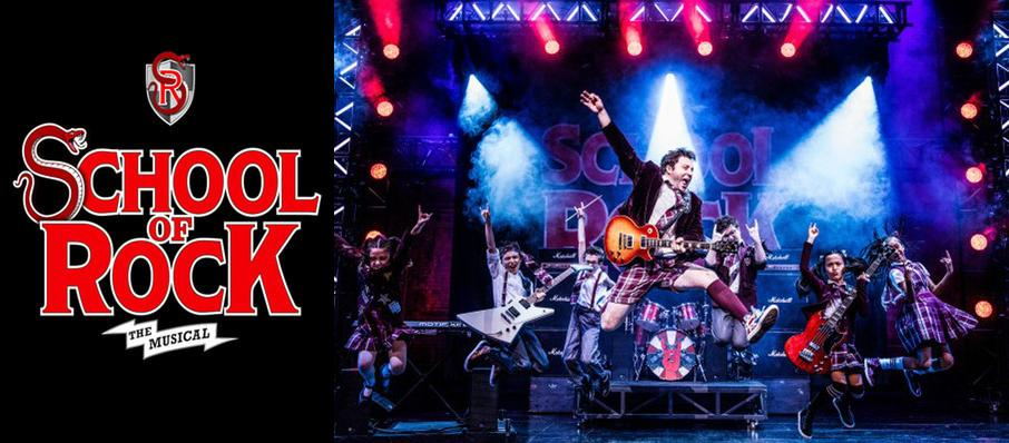 School of Rock at Hippodrome Theatre