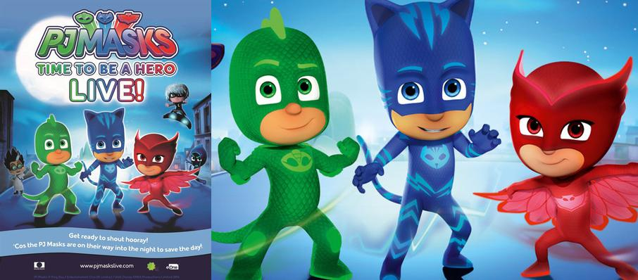 PJ Masks Live! Time To Be A Hero at Hippodrome Theatre