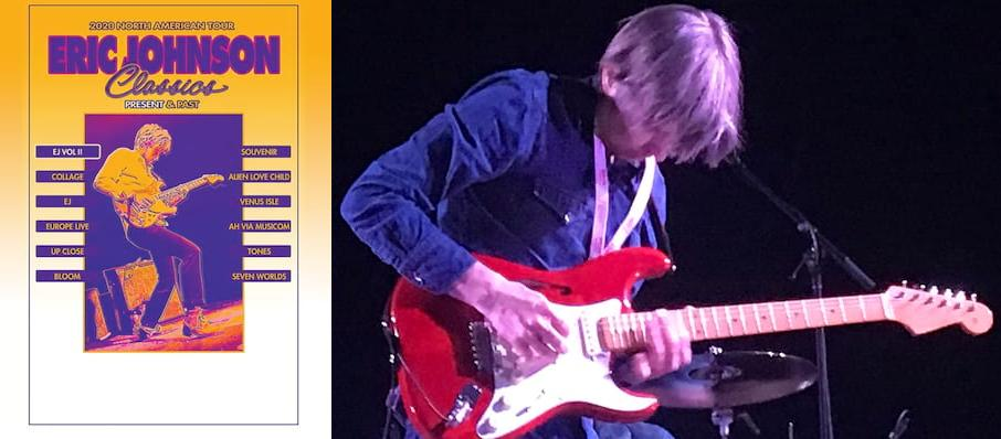 Eric Johnson at Rams Head Live
