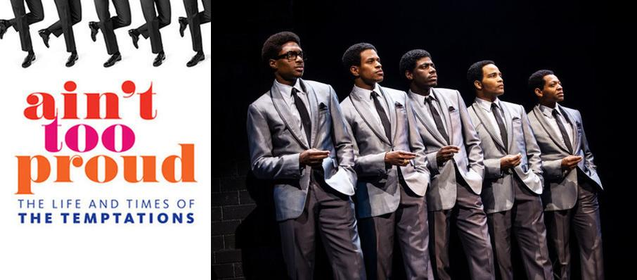 Ain't Too Proud - The Life and Times of the Temptations at Hippodrome Theatre