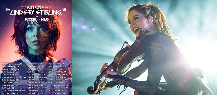 Lindsey Stirling at Merriweather Post Pavillion