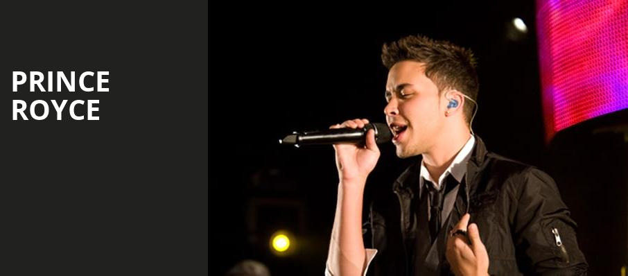 Prince Royce, The Hall at Live Casino and Hotel, Baltimore