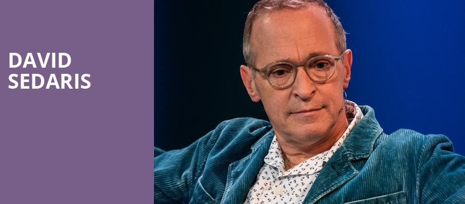 David Sedaris, Meyerhoff Symphony Hall, Baltimore