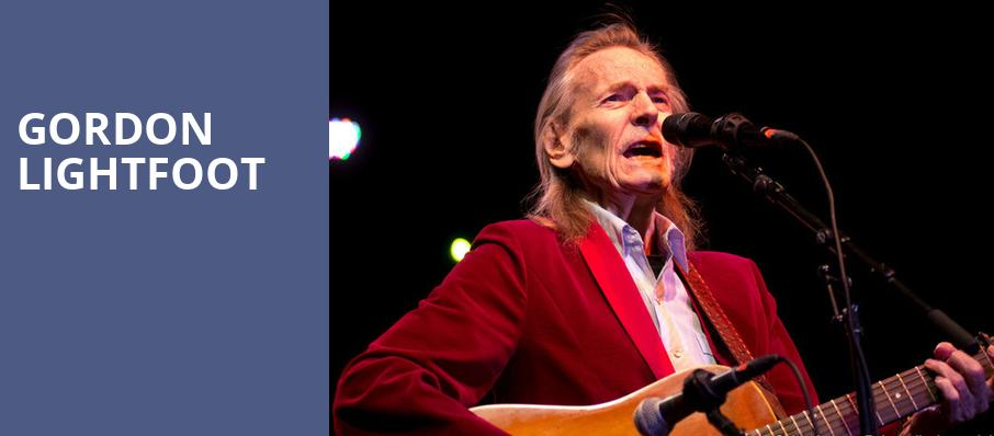 Gordon Lightfoot, Rams Head On Stage, Baltimore