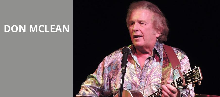 Don McLean, Rams Head On Stage, Baltimore
