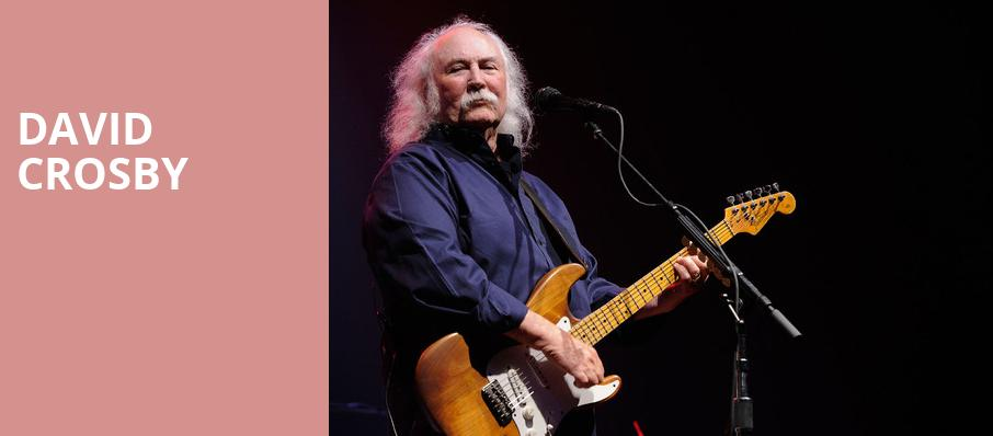 David Crosby, Rams Head On Stage, Baltimore