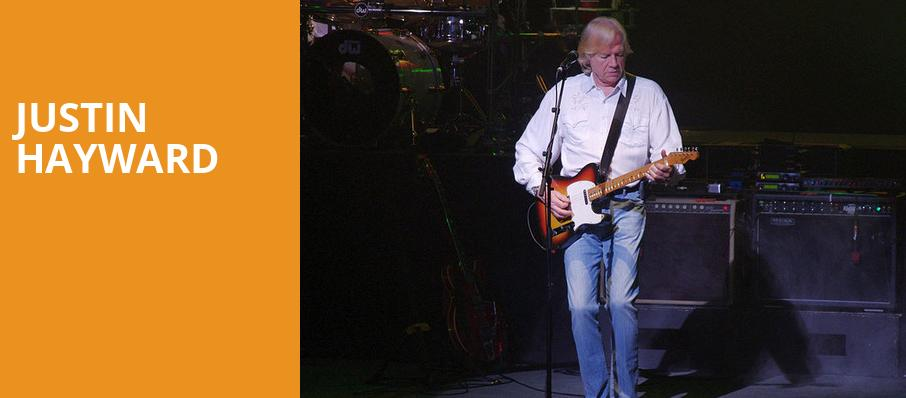 Justin Hayward, Rams Head On Stage, Baltimore