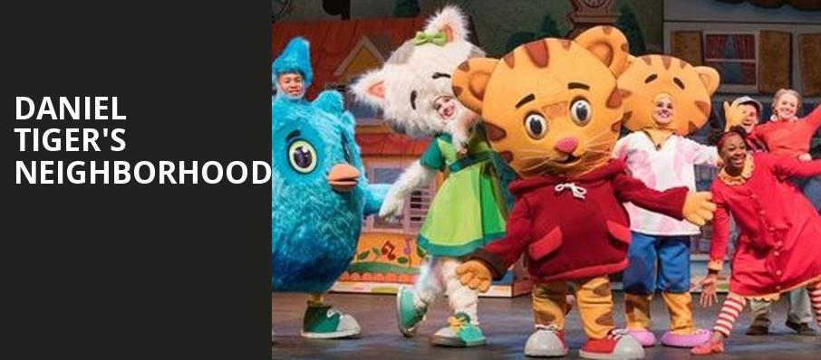 Daniel Tigers Neighborhood, Modell Performing Arts Center at the Lyric, Baltimore