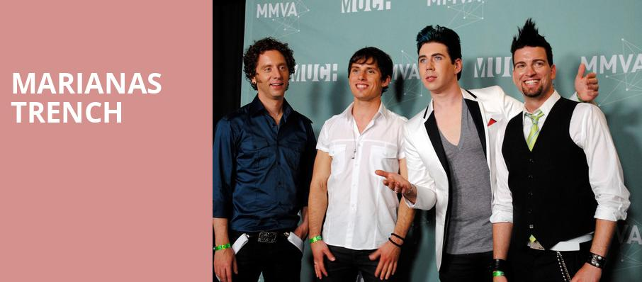 Marianas Trench, Baltimore Soundstage, Baltimore