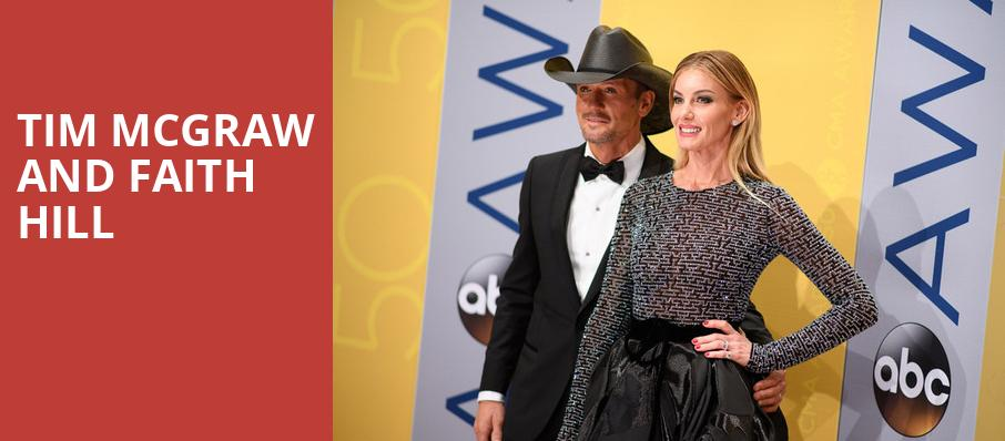 Tim McGraw and Faith Hill, Royal Farms Arena, Baltimore