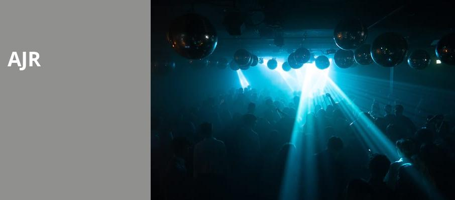 AJR, Rams Head Live, Baltimore