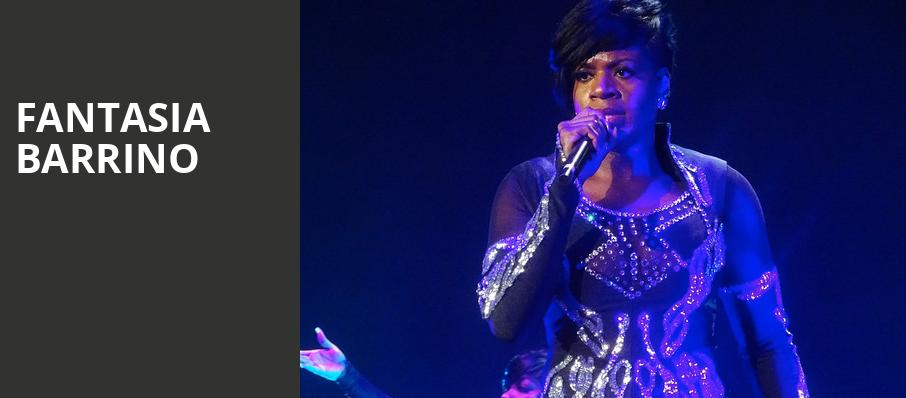 Fantasia Barrino, Rams Head On Stage, Baltimore