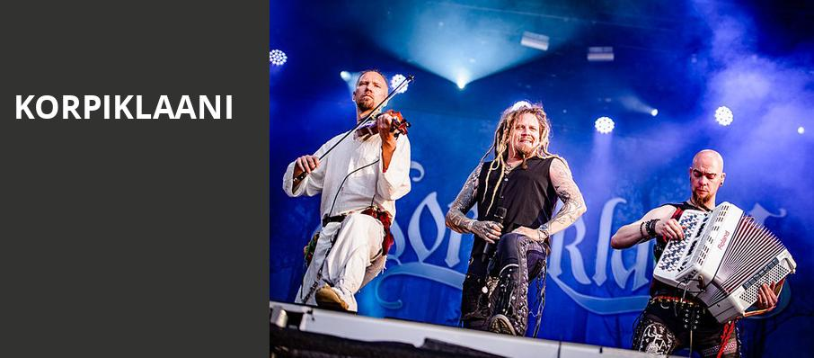 Korpiklaani, Baltimore Soundstage, Baltimore