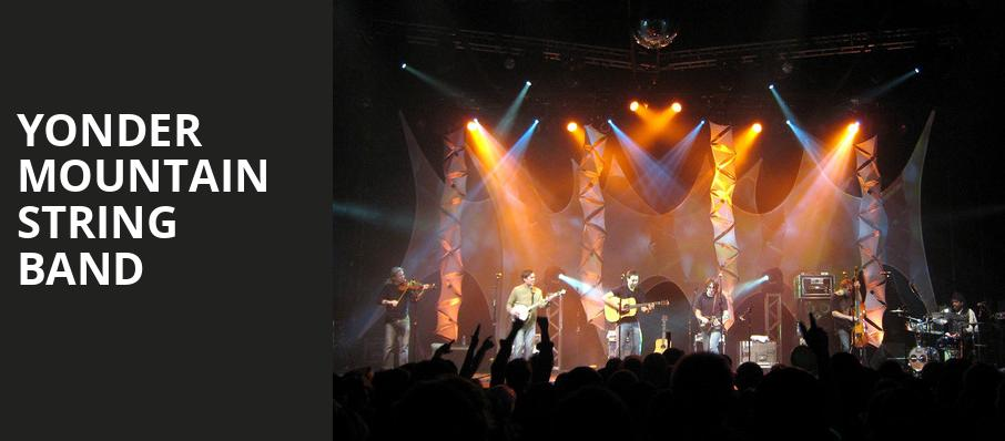 Yonder Mountain String Band, Rams Head On Stage, Baltimore