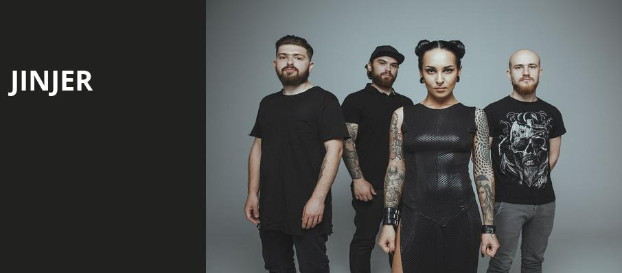 Jinjer, Baltimore Soundstage, Baltimore