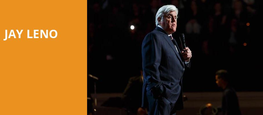 Jay Leno, The Hall at Live Casino and Hotel, Baltimore