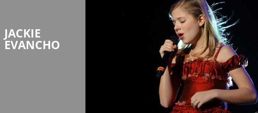 Jackie Evancho, Modell Performing Arts Center at the Lyric, Baltimore