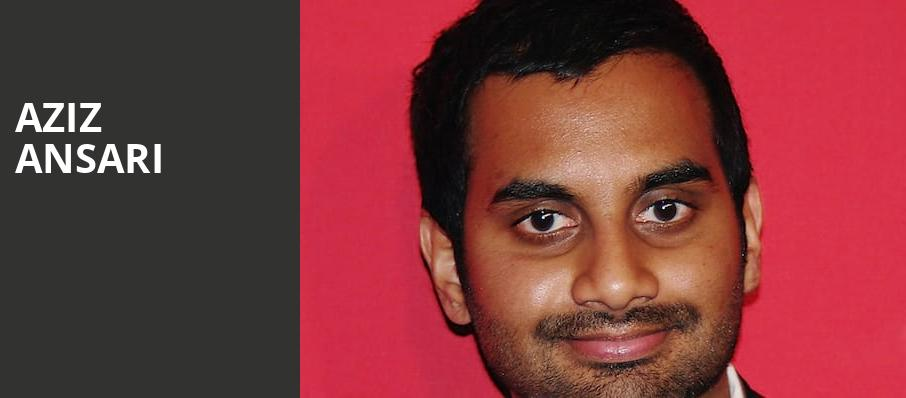Aziz Ansari, Modell Performing Arts Center at the Lyric, Baltimore