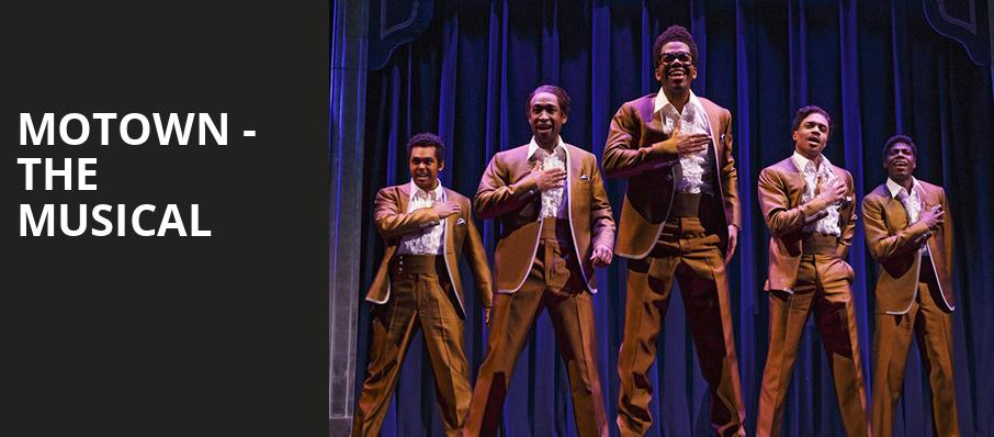 Motown The Musical, Hippodrome Theatre, Baltimore